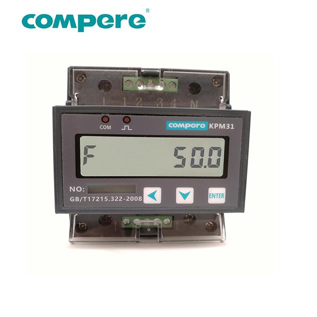 KPM31 1-phase rail energy meter-Compere